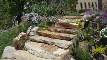 Living Walls - A Terraced Garden in Pikesville