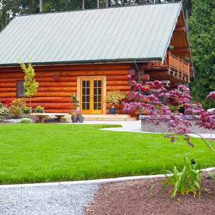 Small Log Cabins Landscaping Ideas | Houzz on patio ideas, virginia landscaping ideas, upcycled decorating ideas, azalea landscape ideas, formal dining room ideas, garden path ideas, full basement ideas, cement driveway ideas, large mudroom ideas, eco-friendly fence ideas, landscape property line ideas, fort building ideas, double oven ideas, homemade fort ideas, low maintenance fence ideas, recycled garden ideas, treehouse ideas, microwave ideas, courtyard fence ideas, updated kitchen ideas,