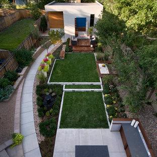 Idee per un giardino design dietro casa