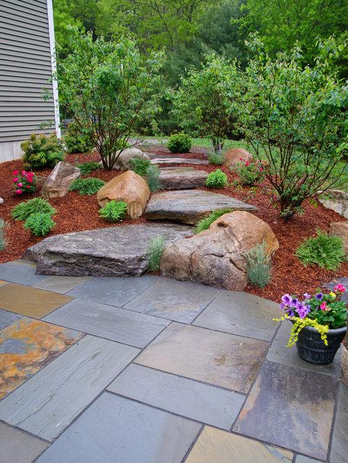 19 806 rustic landscape design ideas remodel pictures - Mantenimiento de un jardin ...