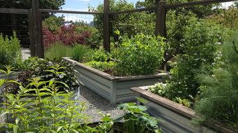 long harbour vegetable garden