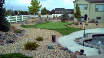 Longmont Backyard Putting Green