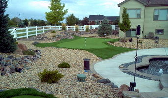 Longmont Backyard Putting Green
