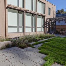 Contemporary Landscape by Matthew Cunningham Landscape Design LLC