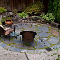 asian landscape by Lori Scott Landscape Design