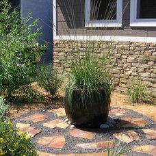 Eclectic Landscape by Argia Designs Landscape Design & Consultation