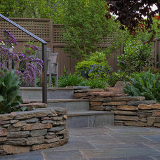 Traditional Landscape by AtMar Landscape Services, Inc.
