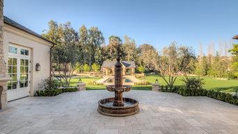 Los Angeles Hidden Hills Landscape Installation