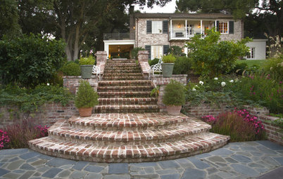 Reclaimed Brick Brings History and Charm to the Garden