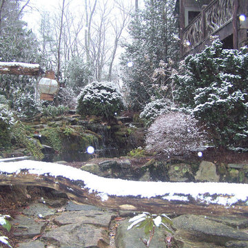 Lost Trail Landscape Design, Build, with Water Feature (Fountain/Pond)