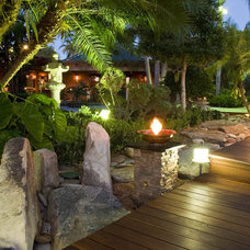 asian landscape by Blakely and Assoc. Landscape Architects, Inc.
