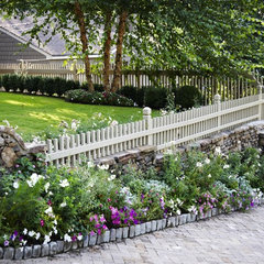 traditional landscape by Troy Rhone Garden Design