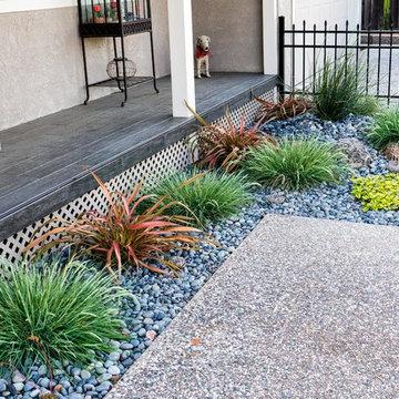 Low-water Drycreek Garden