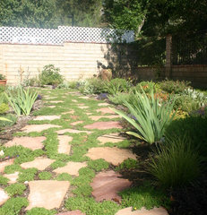 eclectic landscape by The Grass Is Always Greener Landscape Designs