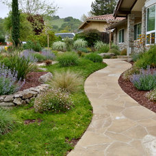 Transitional Landscape by Confidence Landscaping, Inc.