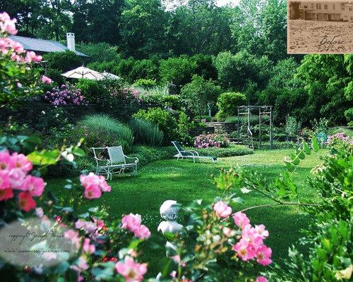 Informal rose garden home design ideas pictures remodel for Informal garden designs