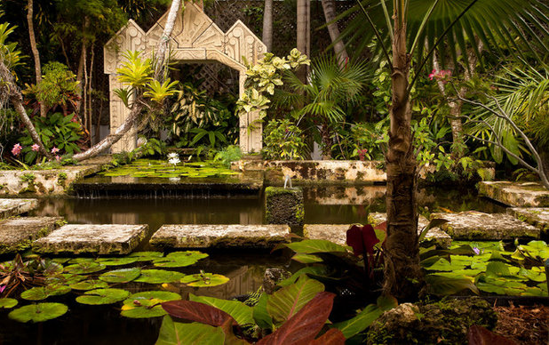 Tropical Landscape by SAVINO MILLER DESIGN STUDIO