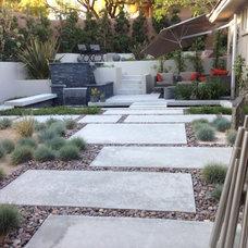 Contemporary Landscape by Sage Design Studios, Inc.