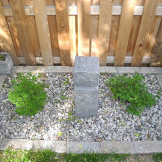Contemporary Landscape by OakWood Renovation Experts