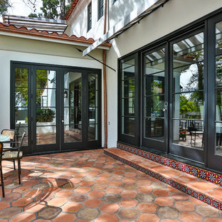 MAGNIFICENT MALIBU ENTRANCE AND COURTYARD