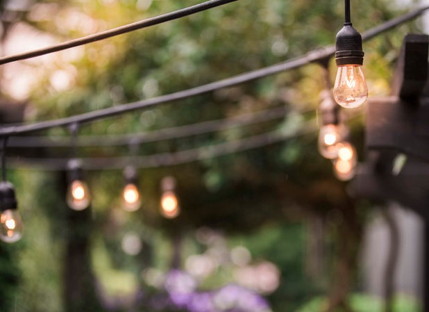 How To Hang String Lights Mesmerizing How To Hang String Lights Outdoors