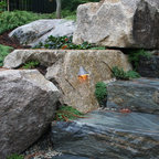 Flagstone Stepping Stone Eclectic Landscape Los