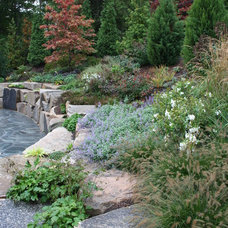Rustic Landscape by Woodburn & Company Landscape Architecture, LLC