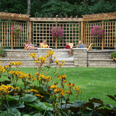 Traditional Landscape by Superior Lawn and Landscape