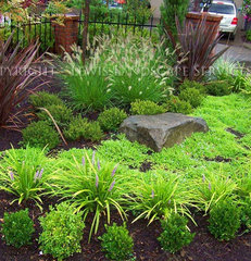 contemporary landscape by Lewis Landscape Services, Inc.