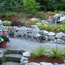 Rustic Landscape by Malone's Landscape Design | Build