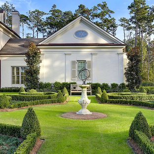 Design Ideas For A Huge Traditional Full Sun Backyard Formal Garden In New  Orleans.
