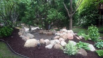 Maple Grove Water Feature