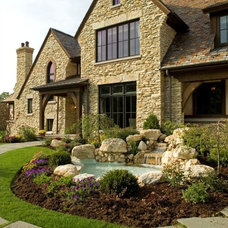Rustic Landscape by Avondale Custom Homes