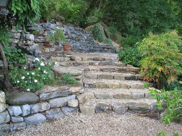 Scale e gradini in giardino falli perfetti - Scale per giardini ...