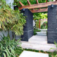 Tropical Landscape by CMA Design Studio Inc