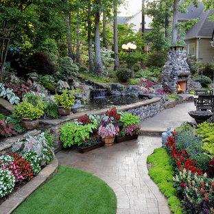 Cette photo montre un jardin chic.
