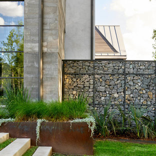75 Beautiful Contemporary Front Yard Landscaping Pictures ... on