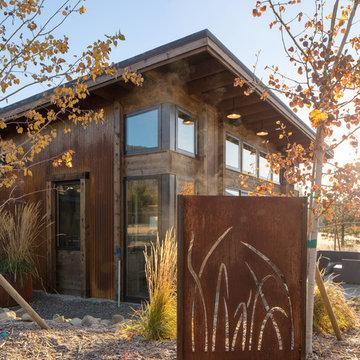 Mazama Meadow Guest House.  Mazama, Washington