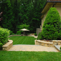 mediterranean landscape by Land & Water Design