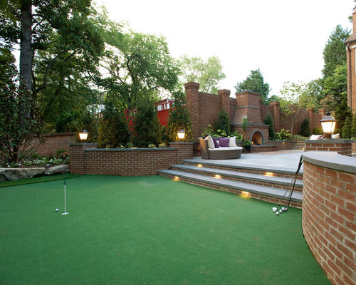 Backyard Putting Green Home Design Ideas Pictures