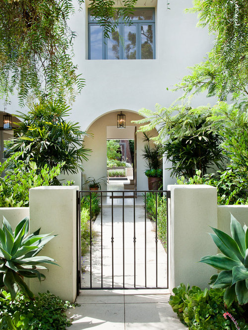 Stucco Half Wall Home Design Ideas Pictures Remodel and