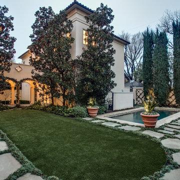 Mediterranean Estate in Highland Park, TX