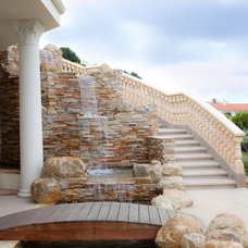Mediterranean Landscape by Cre8tive Interior Designs