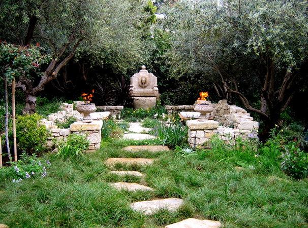 Mediterranean Landscape by Mayita Dinos Garden Design