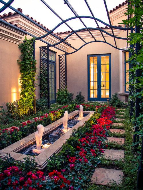 Best mediterranean landscape design ideas remodel for Courtyard renovation ideas