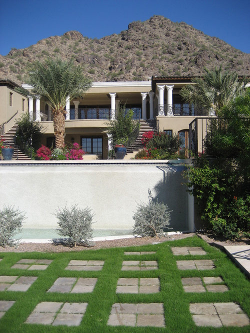 Best parking pad front yard design ideas remodel for Front yard renovation ideas
