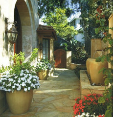 mediterranean landscape by Environmental Designs Landscape