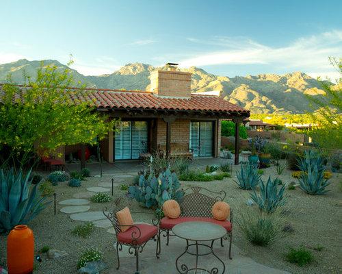 Backyard Desert Landscaping   Houzz