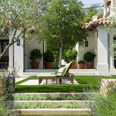 Mediterranean Landscape by Tomaro Design Group