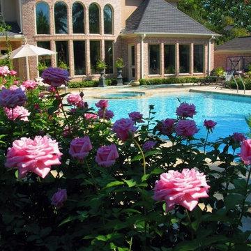 Mediterranean Resort Style Home and Gardens